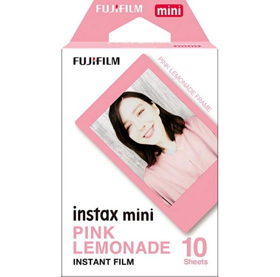 CARGA FUJI MINI INSTAX pink lemonade - 10 FOTOS