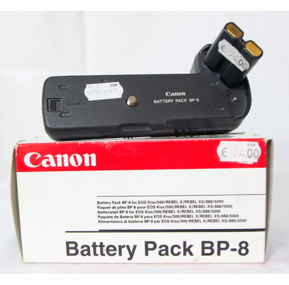CANON BATTERY PACK BP-8