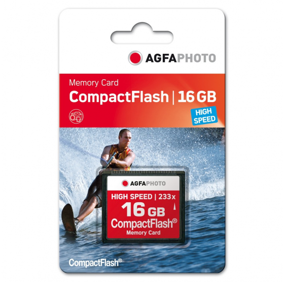 Tarjeta CF  300x HIGH SPEED 16 gb  AGFA PHOTO