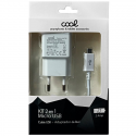 Cargador red/Micro usb 2 AMP COOL
