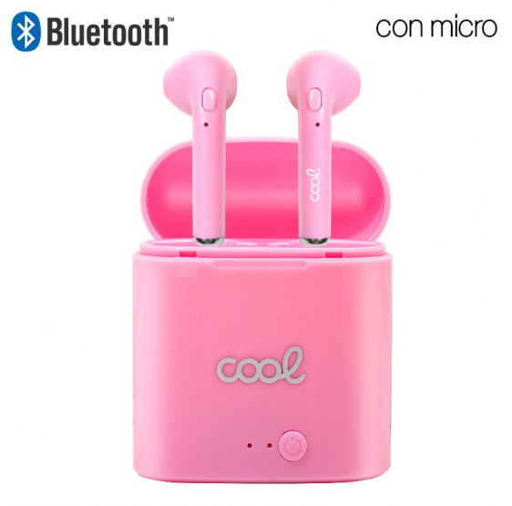 Auriculares Bluetooth Dual Pod COOL Premium + Powerbank