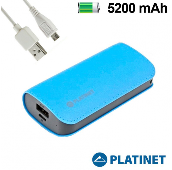 Bateria Externa 5200 MAh Micro-Usb Power Bank