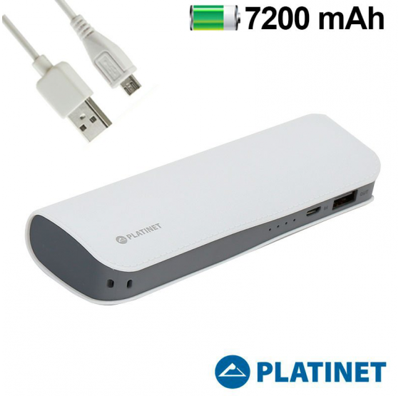 Batería Externa 7200 MAh Micro-Usb Power Bank