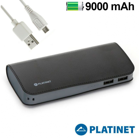 Batería Externa 9000 MAh Micro-Usb Power Bank