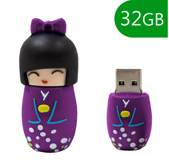Pendrive Cool 32 GB Muñeca Violeta usb 2.0