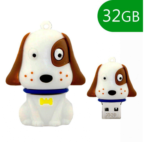 Pendrive Cool 32 GB Perro Blanco usb 2.0
