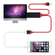 CABLE HDMI A USB 2.0/iPHONE/usb TIPO-C /Micro usb - 1M.