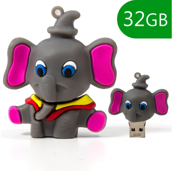 Pendrive Cool 32 GB Elefante usb 2.0