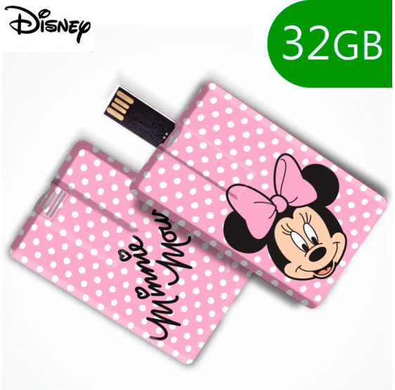 Pen Drive USB 16 GB  Disney Minnie Rosa