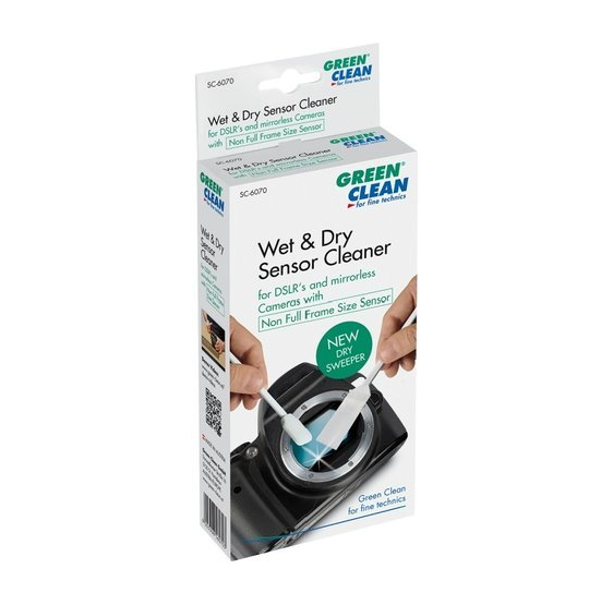 Limpiador Sensor wet + dry Green Clean SC-6070 - 4